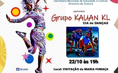 Festival de Dança na Maria Fumaça será realizado no próximo dia 22 às 19h