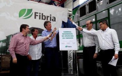 Governo entrega Licença de Operação e Fibria inaugura Terminal Intermodal