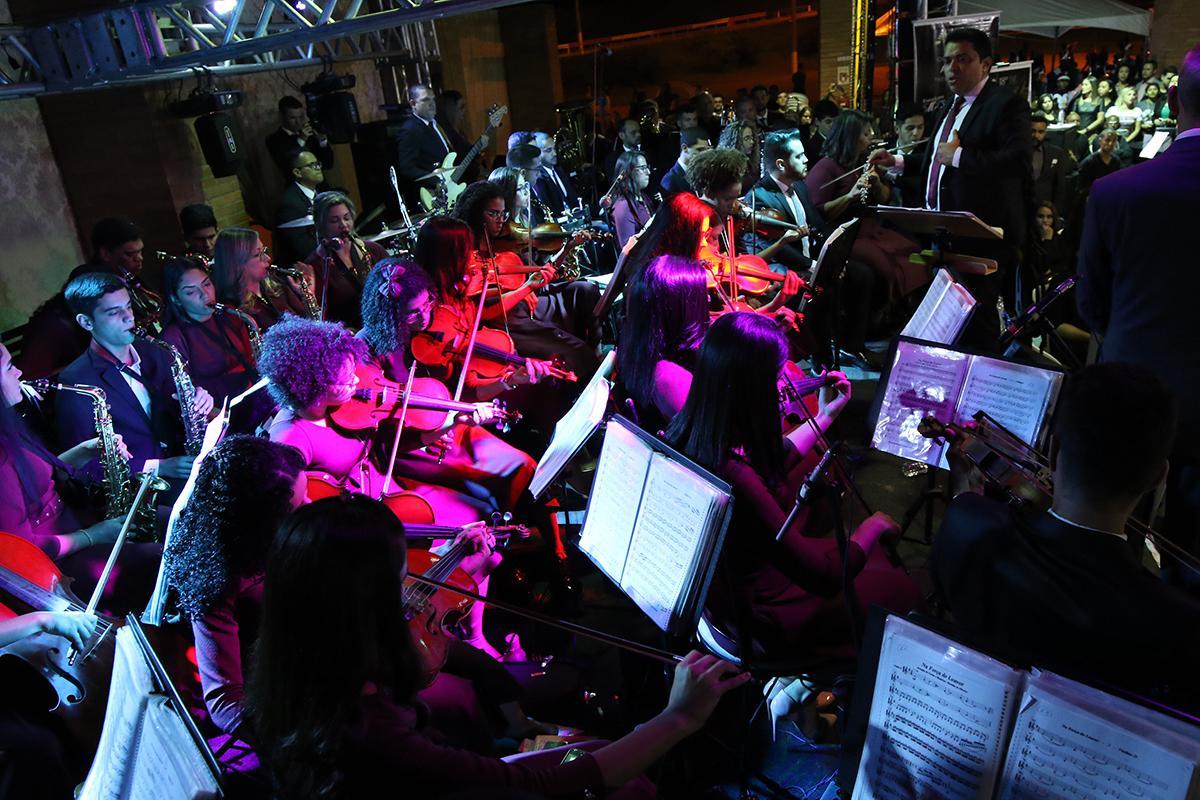 Encontro Nacional de Bandas e Orquestras reuniu bandas de 14 Cidades em Três Lagoas