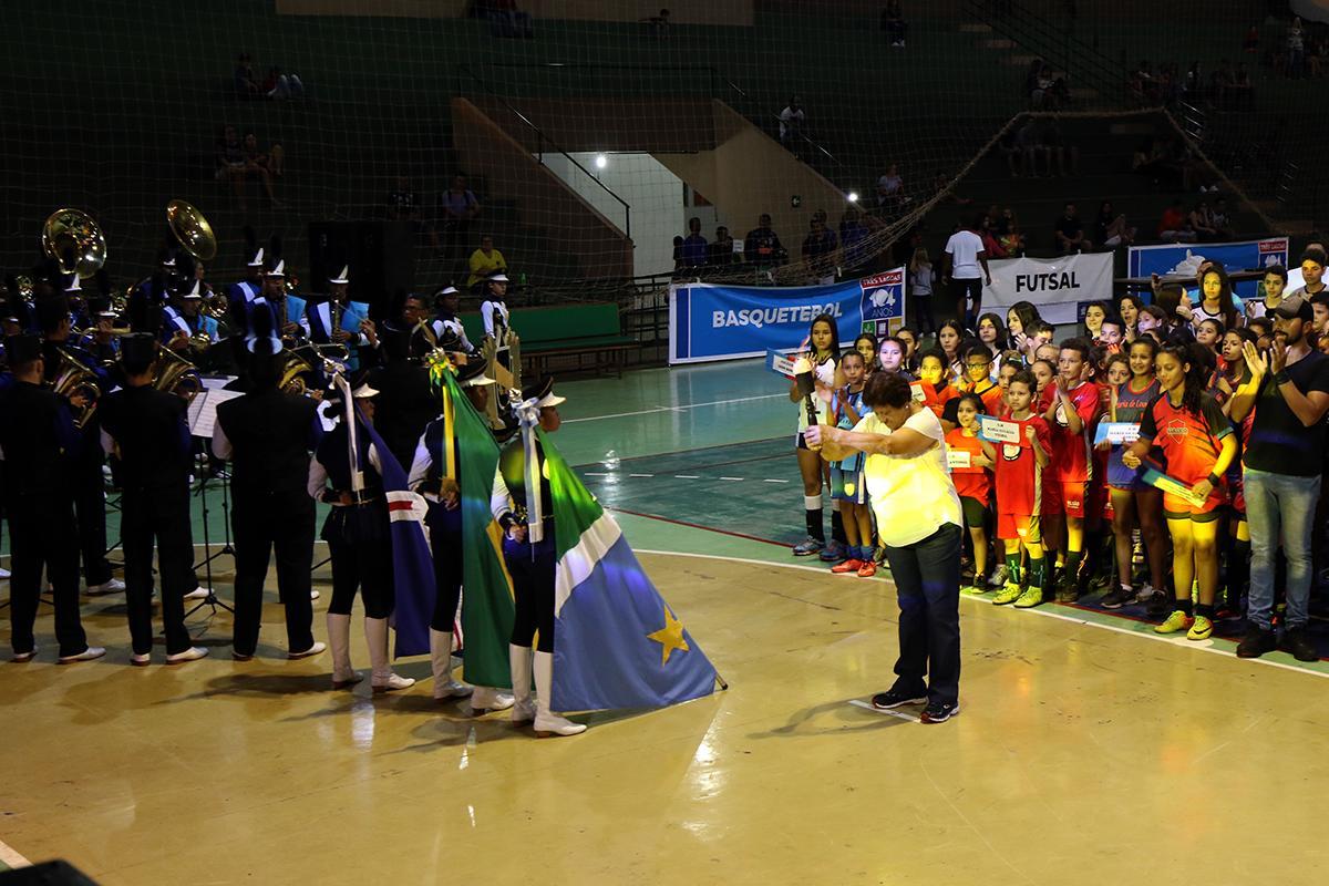 Dada a largada para os Jogos Escolares Três-lagoenses 2019/2020