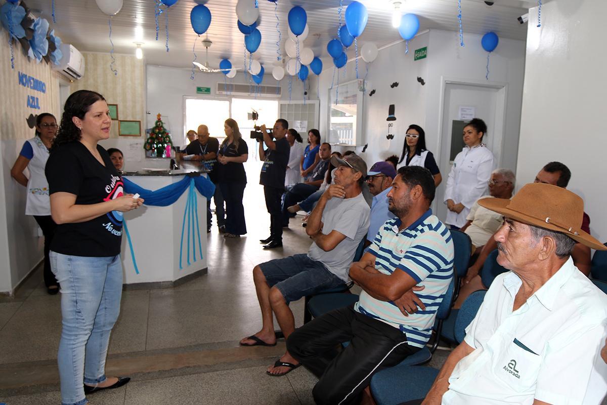 Homens comparecem às unidades de Santo André e Vila Haro para cuidar da Saúde no Novembro Azul
