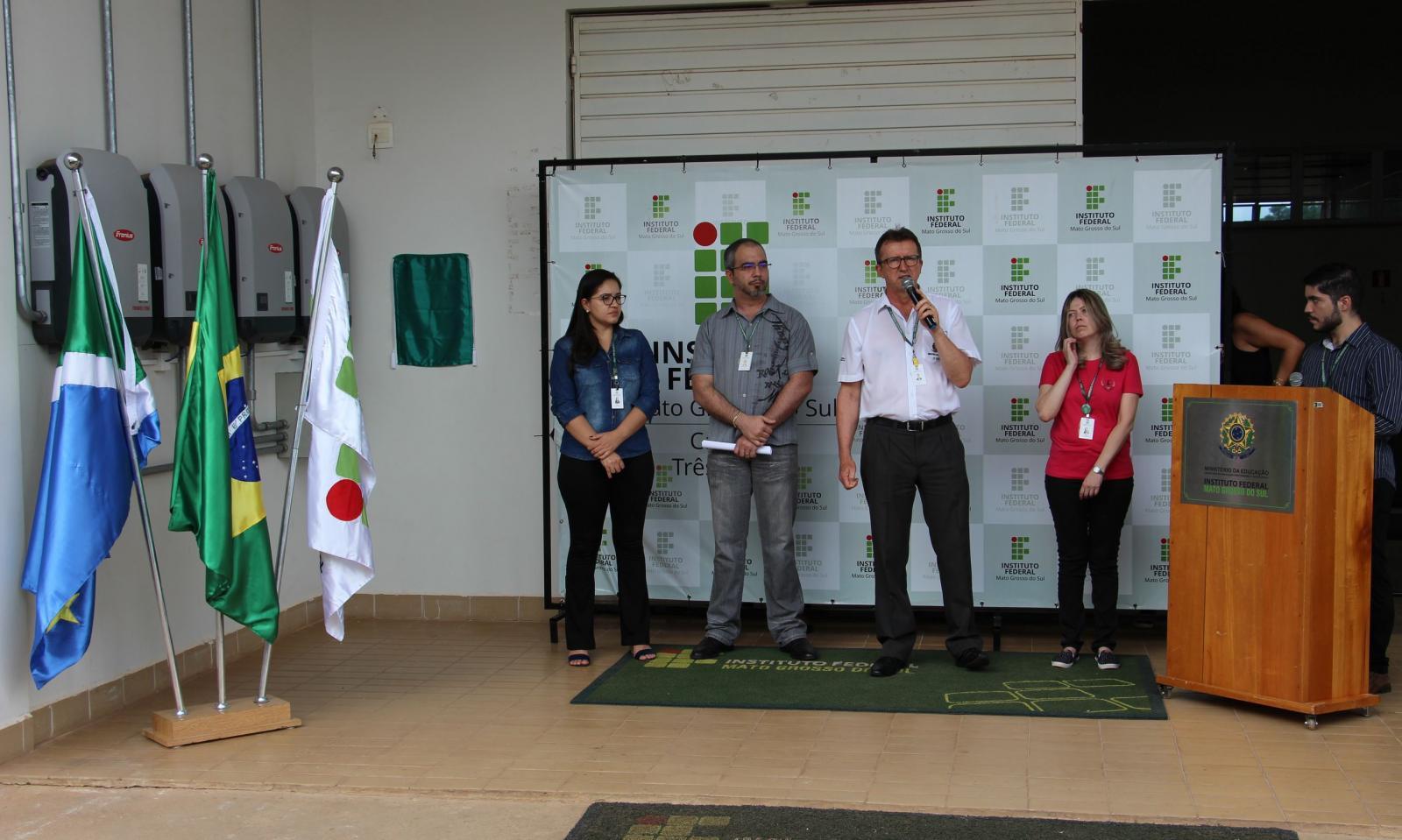 Campus Três Lagoas do IFMS inaugura usina fotovoltaica