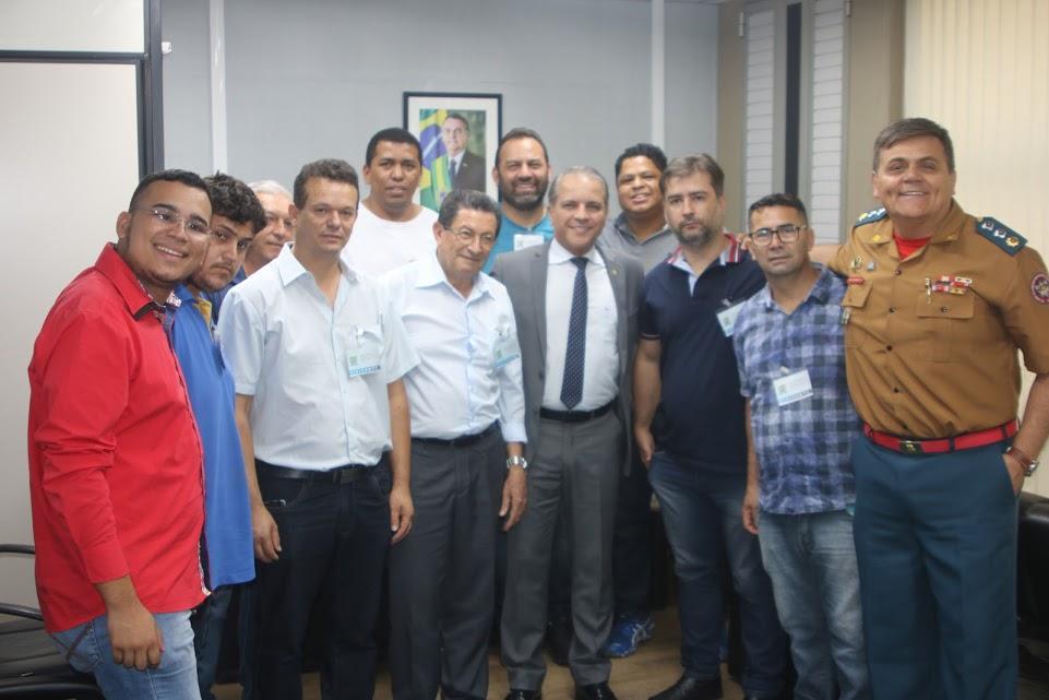 Coronel David e empresários do camelódromo firmam parcerias por mais investimentos no setor