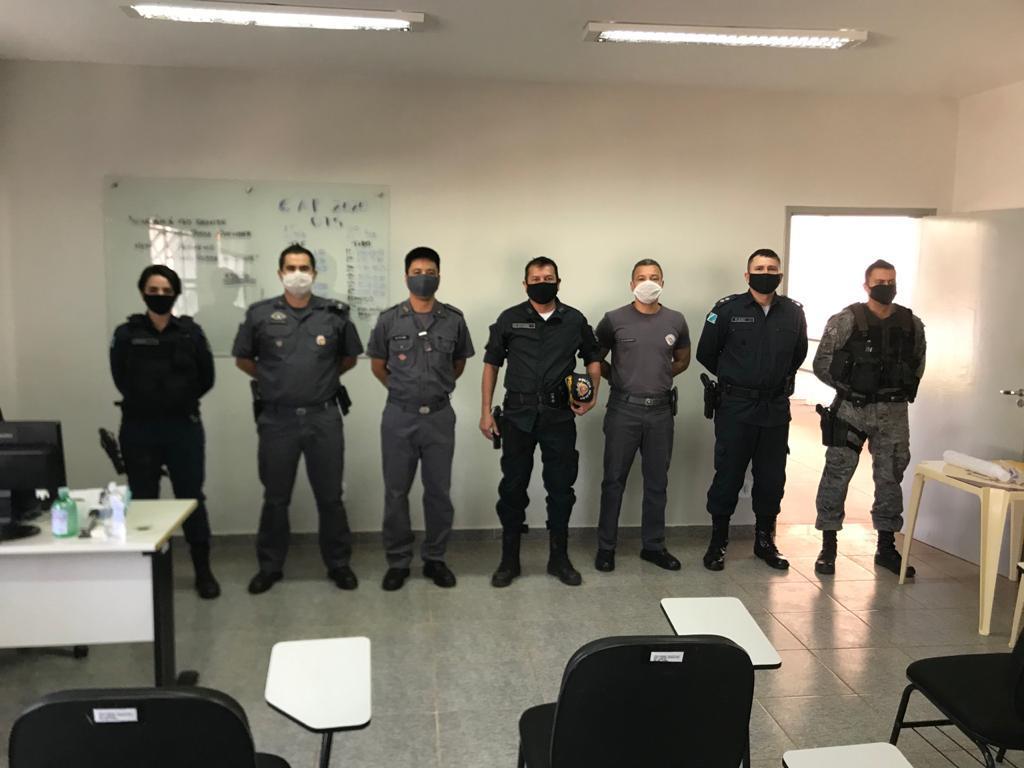 Comandante do 2º BPM realiza visita ao 28º BPM/I em Andradina SP e estreita os laços de amizades entre os dois batalhões localizados na divisa dos estados de MS e SP
