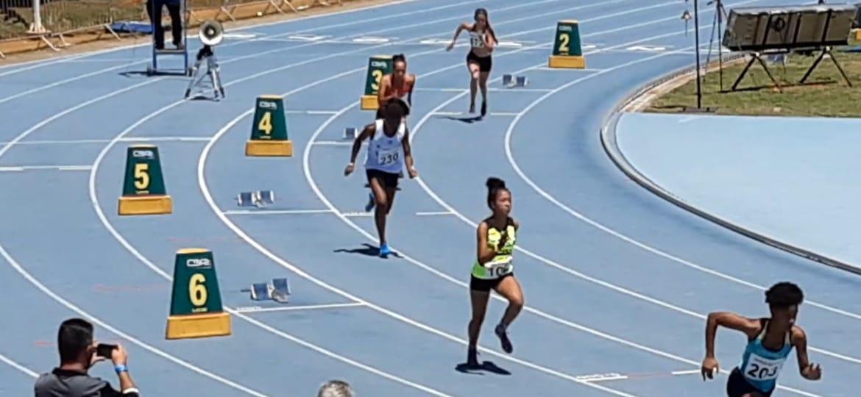 Ana Laura e Camila Inês representam Três Lagoas e MS em competição nacional de Atletismo Sub-20