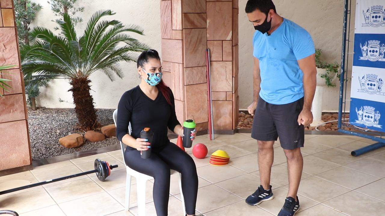 SEJUVEL inicia atividades físicas, aulas de ginástica, capoeira e outros nas redes sociais
