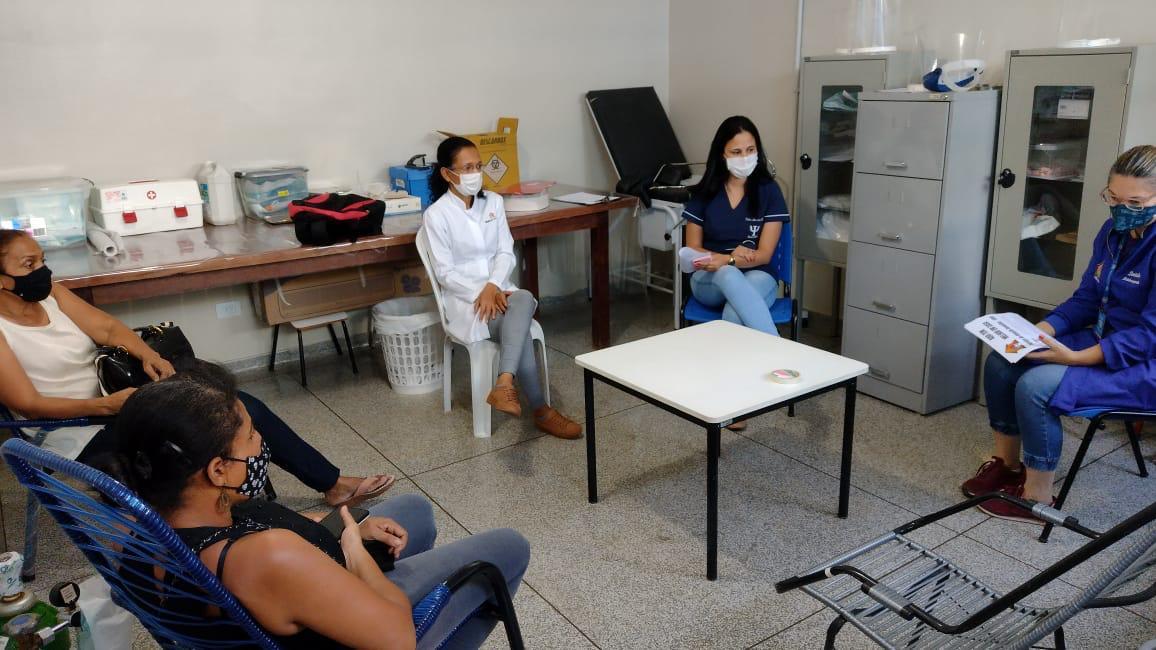 Serviço de Atenção Domiciliar da SMS realiza primeiro encontro com o Núcleo de Apoio aos Cuidadores
